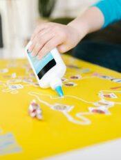 Kreativer Bastelspaß für Kids in der Bastelecke